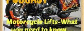 Biker Motorcycle Podcast Lift Jacks Art