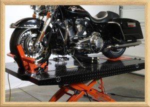 TITAN 100D MOTORCYCLE LIFT TABLE