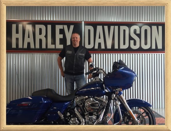 -2015 Harley Road Glide Dealership Purchase Process-Lurch gets a new