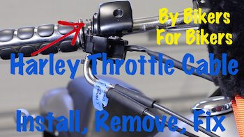 Harley Cable Throttle Art copy