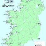 Biker Motorcycle Podcast Ireland Map