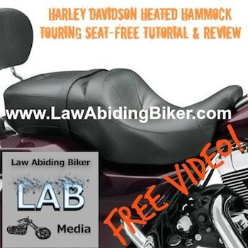 Harley Hammock Heated Seat Biker Podcast 2