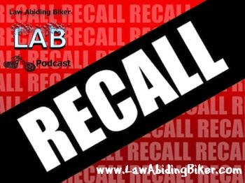 Motorcycle Biker Podcast Recall