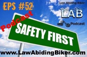 Biker Motorcycle Podcast Safety Sign Official