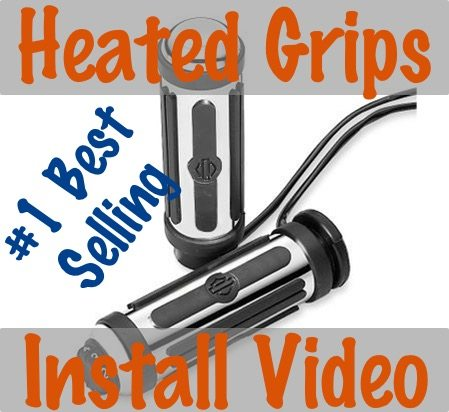 video how to install heated hand grips on a harley davidson  harley heated grips wiring diagram 2014 #15