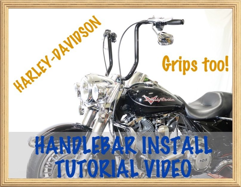 Tutorial Video How to Install Handlebars & Grips on Harley