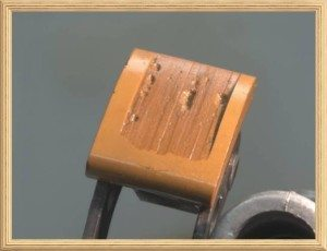 Harley damaged cam chain tensioner