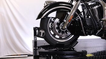 Indian Chieftain Bulldog Custom Wheel Chock copy