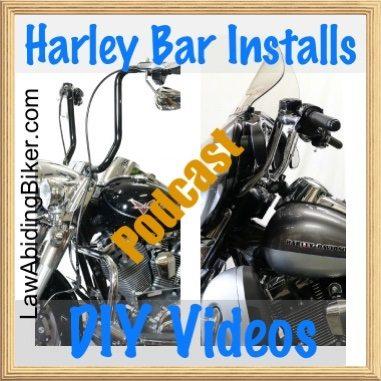 Harley Davidson Handlebar Install Motorcycle Podcast 1