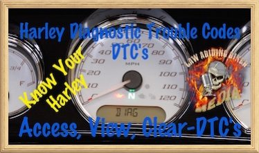 DTC-Access View Clear Harley Diagnostic Trouble Codes DTC's