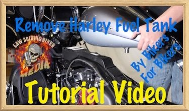 Remove Harley Fuel Tank Final Video