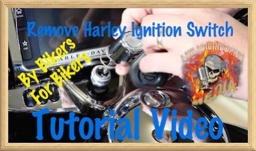 Remove Harley Ignition Switch Video