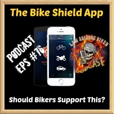 The Bike Shield App Motorcycle Podcast art