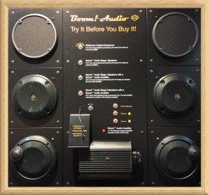 Boom Audio Stage II Speakers & Amp