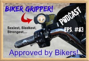 Biker Gripper Podcast Episode Art