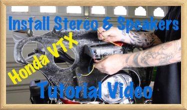 Honda VTX Stereo instlall Video 2 art copy