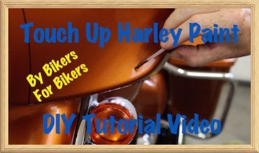 Harley Paint Touch Up Video