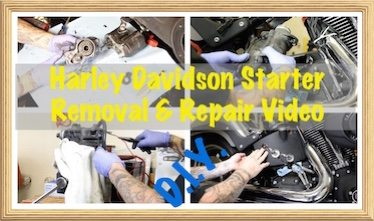 Video-Harley Starter & Clutch Replacement & Oil Tank Remove