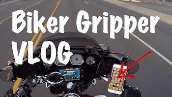 Biker Gripper Cell Phone Motorcycle Mount Best Art copy