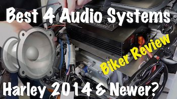 Best 4 Speakers & Amp Audio Systems for Harley 2014 & Newer Review