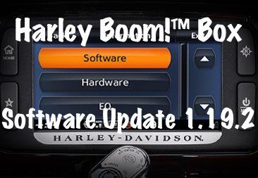 Halrey Boom Box software update 1.19.2