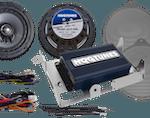 Hogtunes speaker and amp kit harley