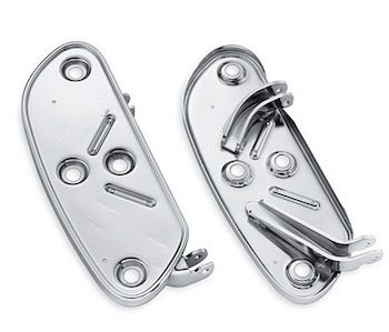 Extended Reach Rider Footboard Pans
