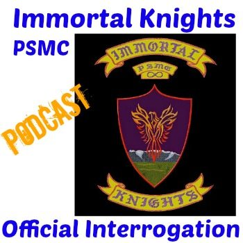 Immortal Knights Public Safety Motorcycle Club Podcast Interview Art final