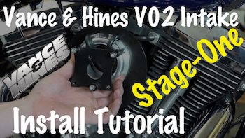 Install V&H VO2 Naked Air Intake Final copy