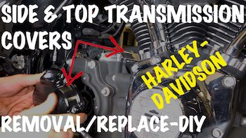 Harley side & top tranmission cover removal DIY Art copy