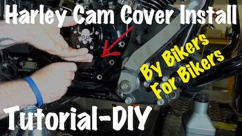 Install Harley Cam Cover Video DIY