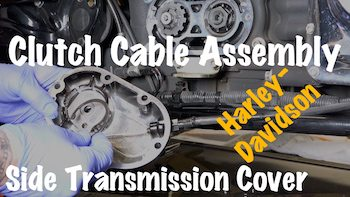 Ryan Urlacher Harley clutch Cable Assembly Removal video DIY YouTube