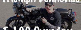 Triumph Bonneville Review Test Ride Art