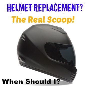 When to replace my motorcycle helmet biker podcast art