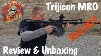 Trijicon MRO Sight Review Unbox Compare Amipoint EoTech copy