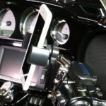 Biker Gripper Chrome Control Motorcycle Mount cell Phone copy