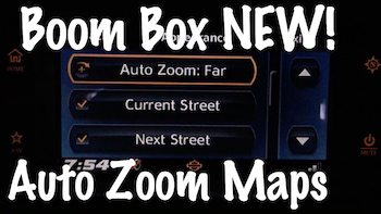 Harley Boom Box New Autozoom Feature tutorial