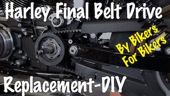 Replace Harley Final Belt Drive Video YT copy