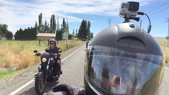 Biker Moto Vlog GoPro Art
