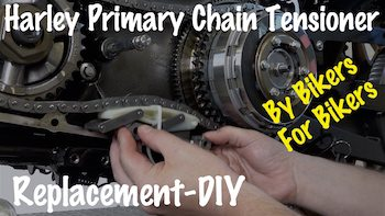 Harley Primary Chain Tensioner Removal Video YT copy
