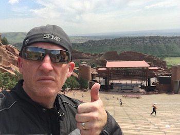Ryan Urlacher Law Abiding Biker Media at Red Rocks Amphitheater