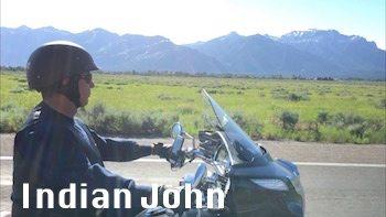 Law Abiding Biker Indian John 1