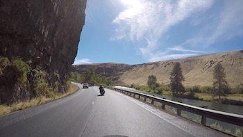 Yakima Rive Canyon Biker Motorccyle art