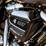 Harley-Davidson's new eight-valve Big Twin in 107-inch variant.