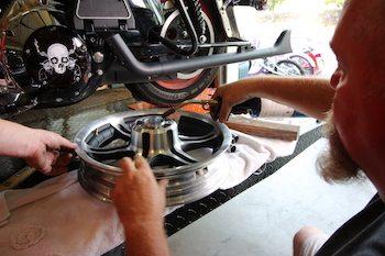 Install New Motorcycle Wheel Bearings-In Your Garage-DIY