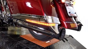 How To Install Wire Ciro 3d Harley Saddlebag Extensions Led