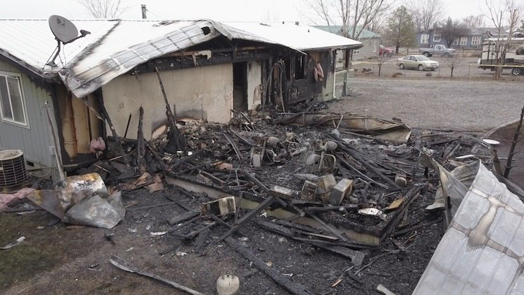 Motorcycle Parts Store Fire Trying To Rebuild Complete Loss