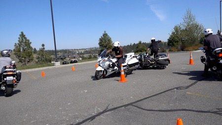 Basic Police Motorcycle School