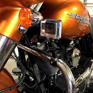Best 5 GoPro Action Camera Mounts for Harley-Davidson