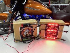Ciro 3D Shock & Awe 2.0 LED lights for Harley
